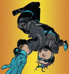 """Bluebird in Batman Eternal art by Javier Fernandez"" Batwoman, Nightwing, Batman Eternal, Dc Comics, Batman Universe, Dc Universe, Im Batman, Superman, Tim Drake Red Robin"