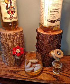The Liquor Log Dispenses Your Booze Through An Actual Log | $98