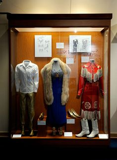 Patsy Cline exhibit at the Country Music Hall of Fame and Museum in Nashville
