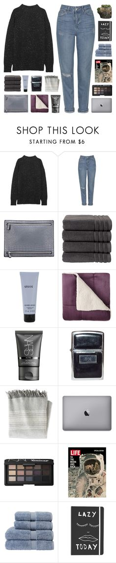 THEY HOLD ON TIGHT by nxstalgia on Polyvore featuring mode, TIBI, Topshop, NARS Cosmetics, Giorgio Armani, Christy, L.L.Bean, Campania International, bathroom and country