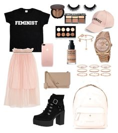 """""""Pastel"""" by madisonkiss on Polyvore featuring Mother of Pearl, Amici Accessories, Rolex, Accessorize, Sephora Collection, NYX, Yuni, Givenchy, MAKE UP FOR EVER and Vivienne Westwood"""