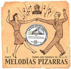 Melodías Pizarras, todos los SÁBADOS DE 22:00 A 24:00, en RNE3