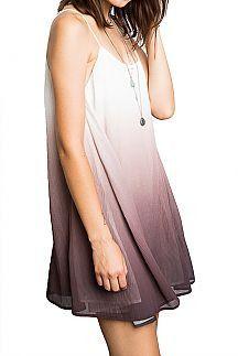 Flowy dress. Dress it up or down!