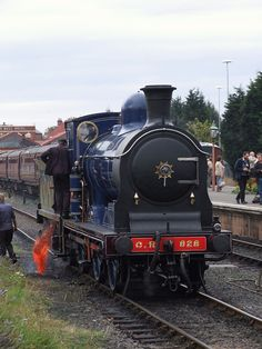 Caledonian 0-6-0 number 828's fire cleaning at Kidderminster (24/09/2011) | Flickr - Photo Sharing!