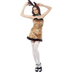 Plus size christmas fancy dress costumes uk