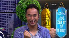 DJ Winky Wiryawan Tidak Terlalu Menyukai Makanan Manis