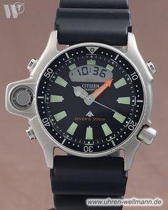 Citizen Promaster Marine, Referenznummer: JP2000-08E, Herrenuhr, Taucheruhr, Gehäusematerial: Stahl (4588) -- www.uhren-wellmann.de --
