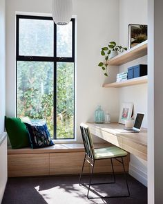 """Bryant Alsop Architects on Instagram: """"First 5 day-week in a while and you need a good work space. Park House delivers! 📷 by @rhiannonslatter 🛠 by Knot Only 🛋 by @pruegordon…"""""""