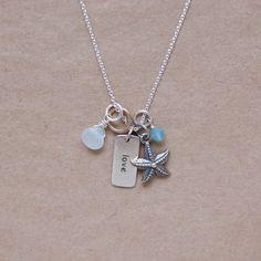 Love Starfish Necklace