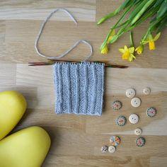 Kierretty joustin - 52 sukanvartta - Neulovilla Drop Earrings, Knitting, Tricot, Breien, Drop Earring, Stricken, Weaving, Knits, Crocheting