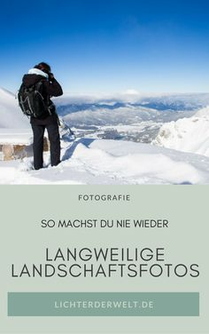So you'll never make boring landscapes again! 13 Composition Rules to Take Your Photography from…How To Make Your Trip Cheap And Unforgettable ❤❤🛫🌏🛬But make your own photos. Photography Tutorials, Photography Tips, Travel Photography, Outdoor Fotografie, Photographs Of People, See Picture, Photo Tips, How To Take Photos, Photo Sessions