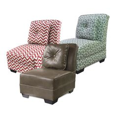 Kick Back And Chill In Our Super Comfy Armless Chairs Choose From A Great Selection Chairold Time Potteryhome