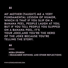 Book of the week 'I Remember Nothing: and Other Reflections ' by Nora Ephron #hustle #book #motivation #inspiration #entrepreneur #girlboss #boss #quote #wisdom #writer
