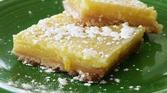 One part tart and one part sweet, these luscious lemon bars have the perfect pairing of flavors.