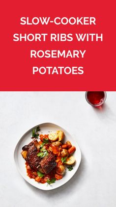Slow-Cooker Short Ribs With Rosemary Potatoes