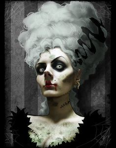 Fright - Finished  by `asunder  Digital Art / Photomanipulation / Macabre & Horror