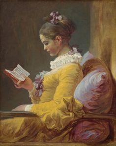 Charles Edward Perugini Girl Reading Print