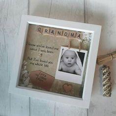 Personnalisé cadre photo fête des mères baby scan cadeau 7x5/'/'!