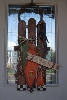 Primitive Halloween Wood Patterns