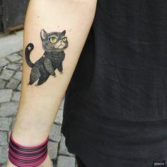www.instagram.com... #tattoo #tatuaz #tattoowork #project #design #ink #inked #graphic #tattuaggio #btattooing #tattuaje #illustration #татуировка #тату #krakow #berlin #wroclaw #warszawa #prague #praha #tetovani #tätowierung #tatuajes #panakota #littletattoos #cat #kot