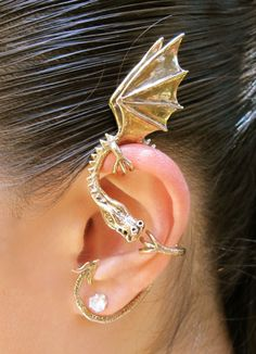 Marty Magic Store - Elfin Dragon Ear Wrap Bronze, $89.00 (http://www.martymagic.com/elfin-dragon-ear-wrap-bronze/)