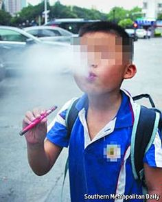 Candy-flavoured smokes for kids