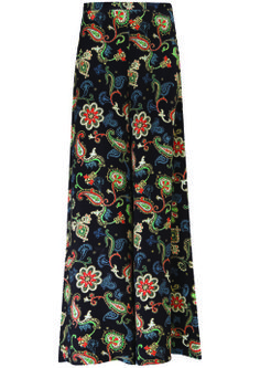 Paisley Trouser, $110: Kate Moss for Topshop | Boca Raton Magazine