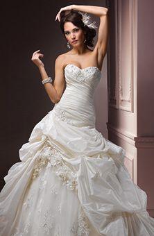 Brides Magazine: Maggie Sottero : Style No. Decadence : Wedding Dresses Gallery