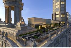 The hotel coming to a landmarked Mag Mile tower will have a three-level rooftop bar with awesome views.