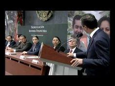 Presidente Peña Nieto promulgó la Reforma Financiera