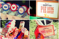 county fair theme-so cute for a childs birthday party too