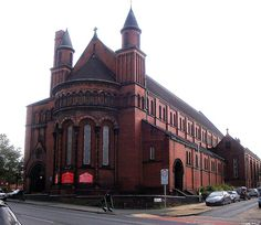 St Aidan, Roundhay Road, Harehills, Leeds, By RJ Johnson & A Crawford Hick. St Aidans, Eastern Europe, Leeds, Back In The Day, Ancestry, Yorkshire, Barcelona Cathedral, Caribbean, Saints