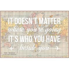 Map of the World Art Print, Poster, Wedding, Wanderlust, Bon Voyage,... ($19) ❤ liked on Polyvore