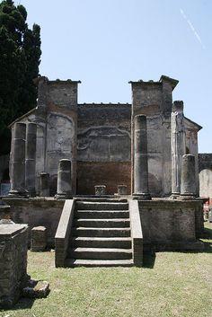 pompeii.  Interesting place.