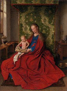 Jan van Eyck , madonna and the child                                                                                                                                                                                 Más
