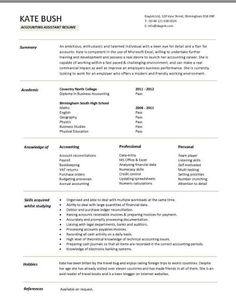 Restaurant 3 Resume Templates Pinterest Sample Resume Resume