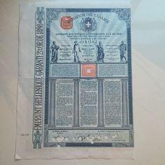 Online veilinghuis Catawiki: Griekenland - Griekenland £ 100 Goud Lening - 1898 - perforaties annulering