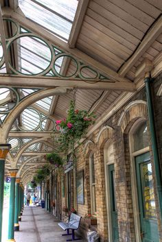 """HDR - Knaresborough Railway Station, North Yorkshire"" by Tiddler on Flickr - Knaresborough Railway Station, North Yorkshire, England"