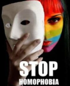 Stop homophobia. You're not scared, you're and asshole.