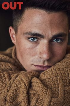 Colton Haynes Stars in Out Magazine September 2016 Cover Story