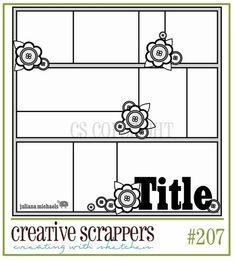MSC February Sketch 3 - Scrapbook.com