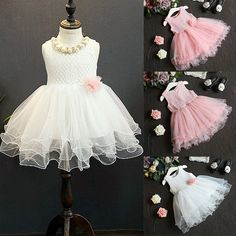 69102fe74903 Princess Lace Flower Dress - Tiny Angels Clothing Tutu Dresses, Baby Girl  Dresses, Ball