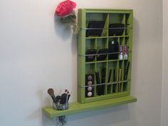 Dill Pickle Printers Drawer Cosmetic by BlackForestCottage on Etsy, $61.00