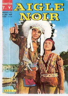 AIGLE NOIR N°4 - EDITIONS SAGE - VEDETTES TV