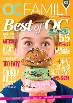 February cover of OC Family magazine. #bestof #magazine #cover #cutestboyever