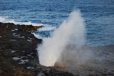 #KAU2010-38 Spouting Horn from lookout