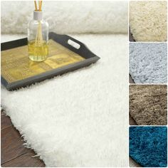 NuLOOM Handmade Solid Soft Plush Shag Rug 3x5.  Soft and plush and with pile made from polyester yarn. This construction is sturdy and can stand the test of time. This shag area rug makes a fun addition to any fashionable space.