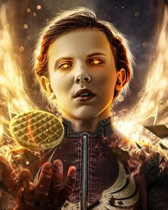 Stranger Things - #strangerthings kids as #xmen here is @milliebobbybrown as Dark Phoenix by Bosslogic