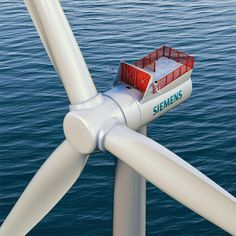 Siemens Increases Wind Power Output of Direct Drive Offshore Wind Turbines Solar Power Facts, Offshore Wind Turbines, Renewable Energy Projects, Solar Panel System, Sustainable Energy, Wind Power, Alternative Energy, Solar Energy, Engineering