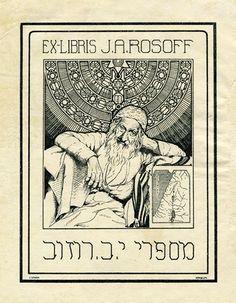 Exlibris J.A. Rosoff